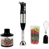 Hastings Home Immersion Blender 4-In-1 6 Speed Hand Mixer Set
