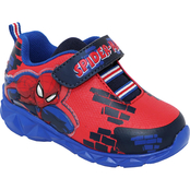 Marvel Toddler Boys Spider-Man Lighted Athletic Shoes