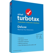 Intuit Turbotax Deluxe Federal and State 2020