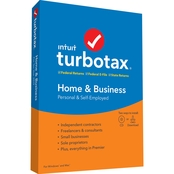 Intuit Turbotax Home & Business 2020