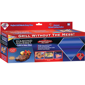 As Seen on TV Diamond Gourmet Grill and Bake Mat