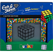 Etch A Sketch Rubiks Cube Edition Toy