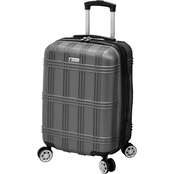 London Fog Kingsbury 21 in. Expandable Hardside Spinner Carry On