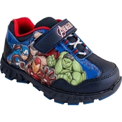 Marvel Boys Spider Man Lighted Athletic Shoes