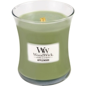WoodWickApplewood 10 oz. Hearthwick Flame Candle