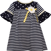 Bonnie Jean Infant Girls Daisy Dot Dress and Panty 2 pc. Set