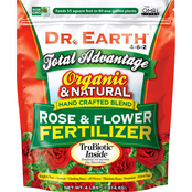 Dr. Earth Total Advantage Organic Rose and Flower Fertilizer 4 lb.