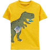 Carter's Toddler Boys Dinosaur Action Graphic Slub Jersey Tee
