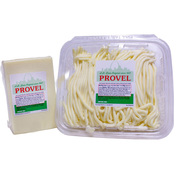 Swiss American St. Louis Provel Combo: 2 lb. Provel Roped Cup, 2.5 lb. Provel Loaf