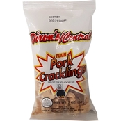 Dixon's Central Pork Skins Salt & Vinegar Cracklins 2oz. Bags, 42 pk.