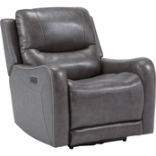 Signature Design by Ashley Galahad Recliner with Power Headrest