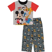 Disney Toddler Boys Mickey 2 pc. Pajama Set