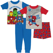 Marvel Toddler Boys 4 pc. Pajama Set