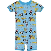 Disney Toddler Boys Mickey Cotton Romper