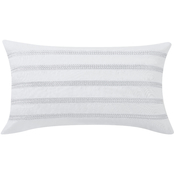 Charisma Bedford Braided Embrodered Rectangle Decorative Pillow