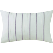 Charisma Essex Embroidered Rectangle Decorative Pillow