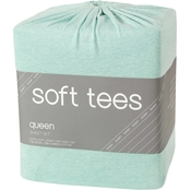 Royale Linens Soft Tees Luxury Cotton Modal Ultra Soft Jersey Knit Twin Sheet Set