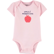 Carter's Infant Girls Apple of Mommy's Eye Original Bodysuit