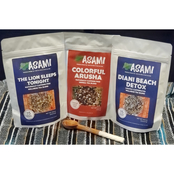 Asami Wellness Tea Variety Gift Set with Kenyan Tea Scoop