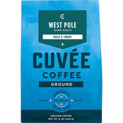 Cuvee Coffee Ground West Pole Dark Roast 12 oz. bags, 6 pk.