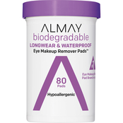 Almay Biodegradable Longwear and Waterproof Eye Makeup Remover Pads