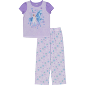 Disney Little Girls Frozen 2 pc. Polyester Pajama Set