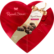 Russell Stover 9.5 Oz. Assorted Velvet Chocolate Heart