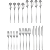 Cambridge Silversmiths Averie Satin 20 pc. Flatware Set