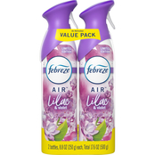 Febreze Air Lilac and Violet Twin Pack