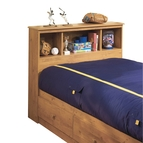 South Shore Little Treasures Twin Bookcase Headboard