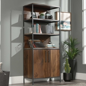 Sauder Nova Loft Bookcase with Doors