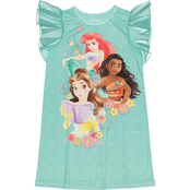 Disney Little Girls Disney Princess Dorm Gown