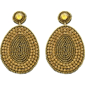 Panacea Bronze Statement Earrings