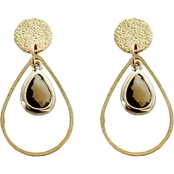 Panacea Bronze Small Teardrop Earrings