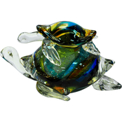 Dale Tiffany Colorful Sea Turtle Figurine