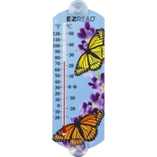 Penn E-Z Read 10 in. Thermometer with Butterflies