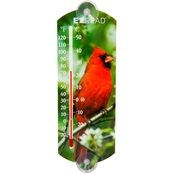 Penn E-Z Read 10 in. Thermometer with Cardinals