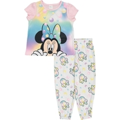 Disney Toddler Girls Minnie Mouse 2 pc. Pajama Set