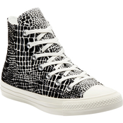 Converse Women's Chuck Taylor All Star Croc Print High Top Shoes