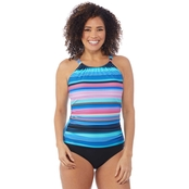 Jantzen High Neck 1 pc. Swimsuit