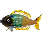Dale Tiffany Nile Fish Handcrafted Art Glass Figurine