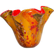 Dale Tiffany Tobias Hand Blown Art Glass Vase