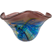 Dale Tiffany Allesia Art Glass Bowl