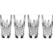 Waterford Lismore Diamond Shot Glass 2 oz. Set of 2