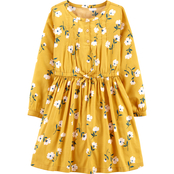 Carter's Little Girls Floral Sateen Dress