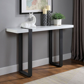 Furniture of America Eimer Sofa Table