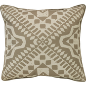 Outdoor Decor Tribal 18 x 18 in. Printed Cushion