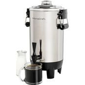 HomeCraft Stainless Steel 30 Cup Coffee Urn