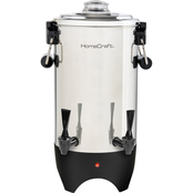 HomeCraft Stainless Steel 45 Cup Coffee Urn