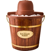 Nostalgia Electrics 4 qt. Wood Bucket Ice Cream Maker